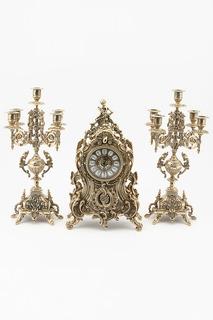 Набор: часы, канделябр 2 шт. Stilars