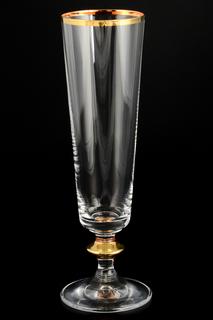 Фужеры для шампанского 6 шт. Crystalite Bohemia