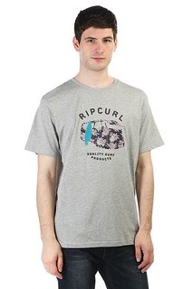 Футболка Rip Curl Van Allover Tee Cement Marle