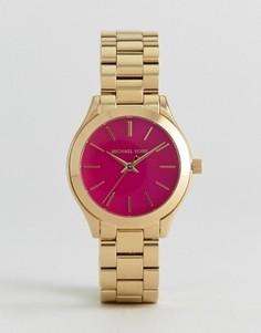 Золотистые часы Michael Kors Runway - Золотой