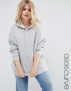Худи ASOS CURVE Ultimate - Серый