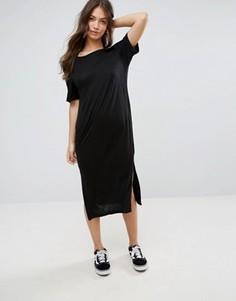 Платье миди с халтером Cheap Monday - Черный