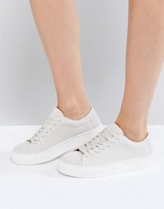 Замшевые кроссовки Selected Donna - Белый