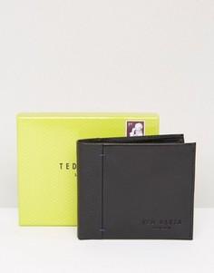 Кожаный бумажник Ted Baker - Черный