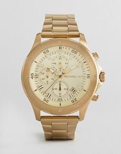 Золотистые часы 44 мм Michael Kors MK8570 - Золотой