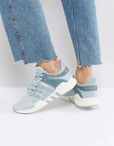 Зеленые кроссовки adidas Originals EQT Support - Зеленый