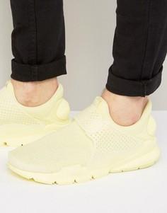 Желтые дышащие кроссовки Nike 909551-700 - Желтый