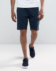 Темно-синие шорты чиносы классического кроя с затягивающимся шнурком Timberland - Темно-синий