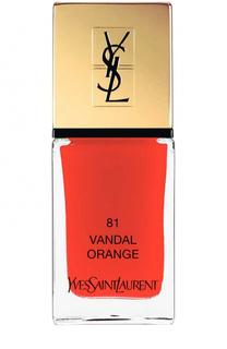 Лак для ногтей La Laque Couture, оттенок 81 YSL