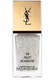 Лак для ногтей La Laque Couture, оттенок 58 YSL
