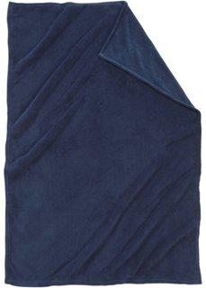 Плед Словно кашемировый (синий) Bonprix