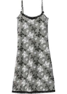 Ночная сорочка (шиферно-серый с рисунком) Bonprix