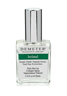 """Туалетная вода Demeter Fragrance Library """"Ирландия"""" (""""Ireland""""), 30 мл"""