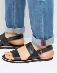 Кожаные сандалии Tommy Hilfiger Saint - Черный