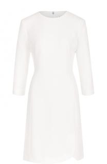 Приталенное мини-платье с укороченным рукавом DKNY