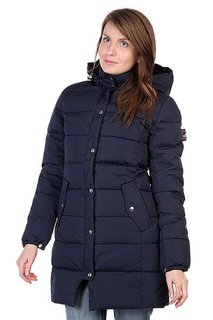 Пальто женское Penfield Millis Thigh Lgth Hooded Down Jkt Navy