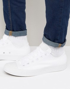 Белые кеды Converse All Star Ox 1U647 - Белый