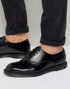 Оксфордские туфли Dr Martens Henley - Черный
