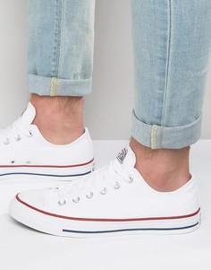 Белые кеды Converse All Star Ox M7652 - Белый