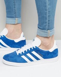 Синие кроссовки adidas Originals Gazelle S76227 - Синий