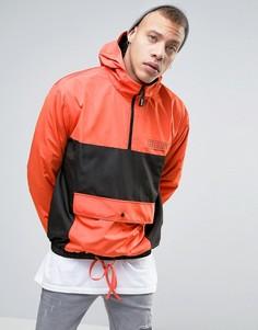 Куртка через голову с капюшоном Heros Heroine - Оранжевый