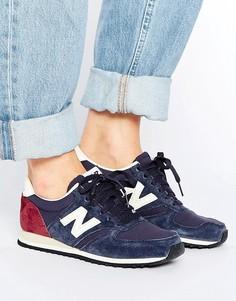 Темно-синие кроссовки New Balance 420 - Синий
