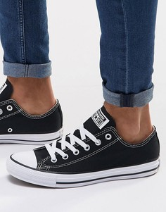 Черные кеды Converse All Star Ox M9166C - Черный