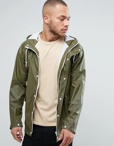Прорезиненная фестивальная куртка Another Influence - Зеленый