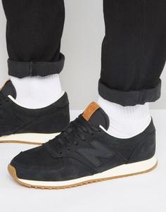 Черные кроссовки в стиле 70-х New Balance Running 420 U420NKT - Черный