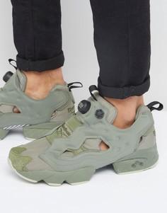 Зеленые кроссовки Reebok Instapump Fury BD1501 - Зеленый