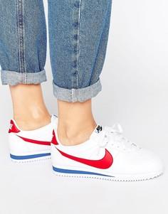 Кожаные кроссовки в стиле ретро Nike Classic Cortez - Мульти