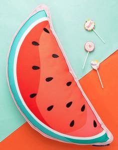 Подушка с дизайном арбуза Sunnylife - Мульти