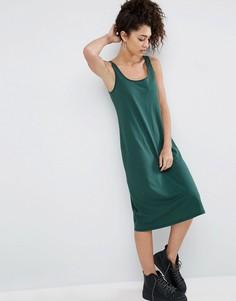 Платье-майка миди ASOS - Зеленый