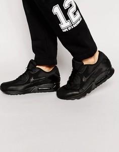 Черные кроссовки Nike Air Max 90 Essential 537384-090 - Черный
