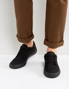 Черные кроссовки Nike SB Portmore II SS 880268-001 - Черный
