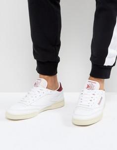 Белые кроссовки Reebok Club C 85 BS8897 - Белый