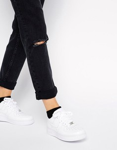 Белые кроссовки Nike Air Force 1 07 - Белый