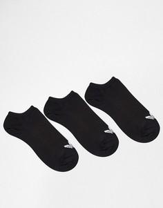 3 пары подследников adidas Originals - Черный