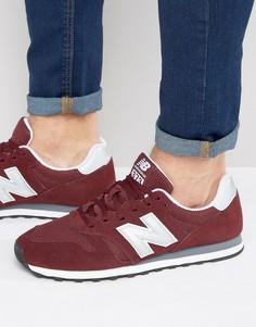 Бордовые кроссовки New Balance Modern Classic 373 ML373BN - Красный