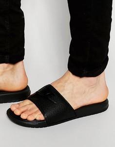 Черные шлепанцы Nike Benassi 343880-001 - Черный