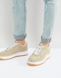 Желто-коричневые кроссовки Nike Air Force 1 315122-214 - Рыжий