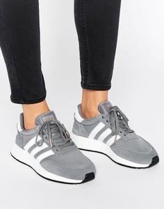 Серые кроссовки adidas Originals Iniki - Серый