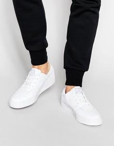 Белые кожаные кроссовки Nike SB Stefan Janoski 616490-110 - Белый