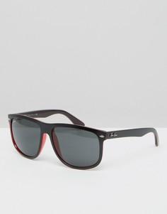 Солнцезащитные очки-вайфареры Ray-Ban 0RB4147 - Черный