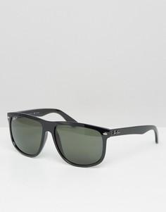 Вайфареры с поляризованными стеклами Ray-Ban 0RB4147 - Черный