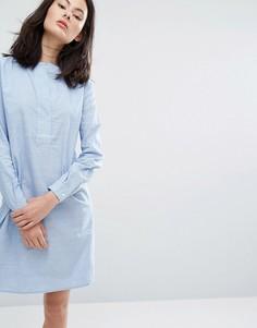 Платье-рубашка ADPT Heal - Белый