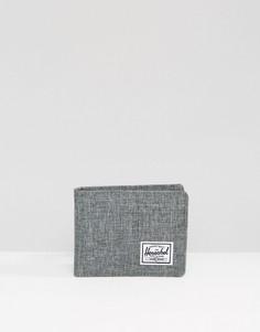 Бумажник двойного сложения Herschel Supply Co Roy - Серый