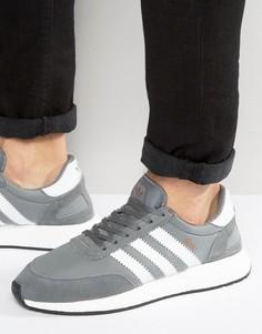 Серые кроссовки для бега adidas Originals Iniki BB2089 - Серый