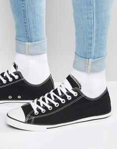 Черные кеды Converse All Star Lean 142272C - Черный