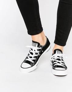 Женские черные кроссовки Converse Chuck Taylor All Star Core Ox - Черный